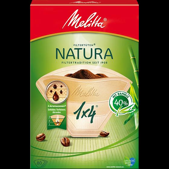 Melitta® Filtertüten® Natura, 1x4®