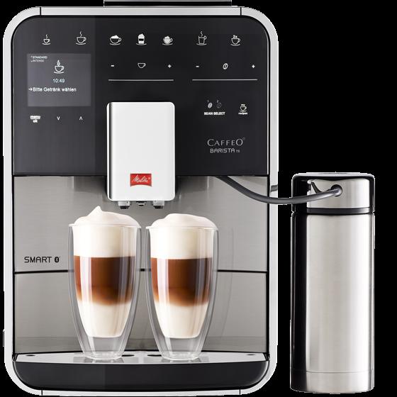 Barista TS Smart® Kaffeevollautomat, Edelstahl
