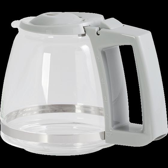 Glaskanne, Single 5, weiß-grau: Typ M 720-1/1