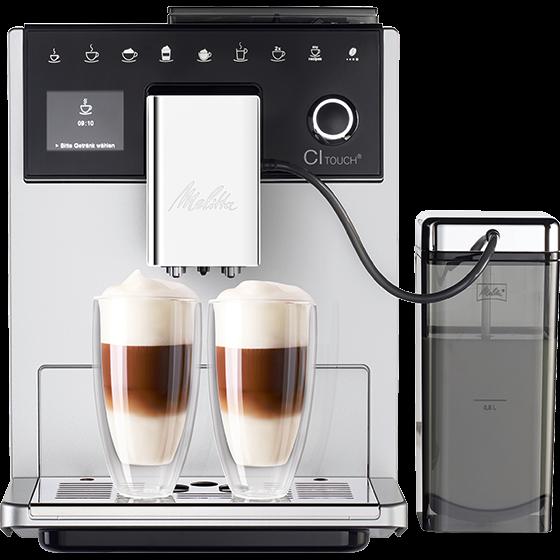 CI Touch® Kaffeevollautomat, silber (2.Wahl)