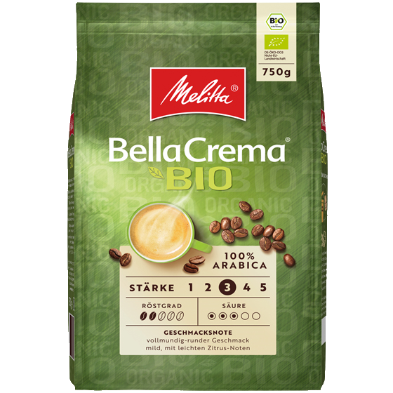 Melitta® BellaCrema® Bio - 750g