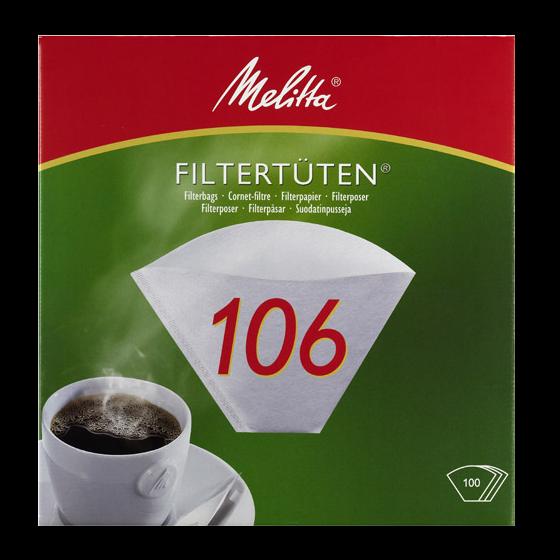 Melitta® Filtertüten® PA 106