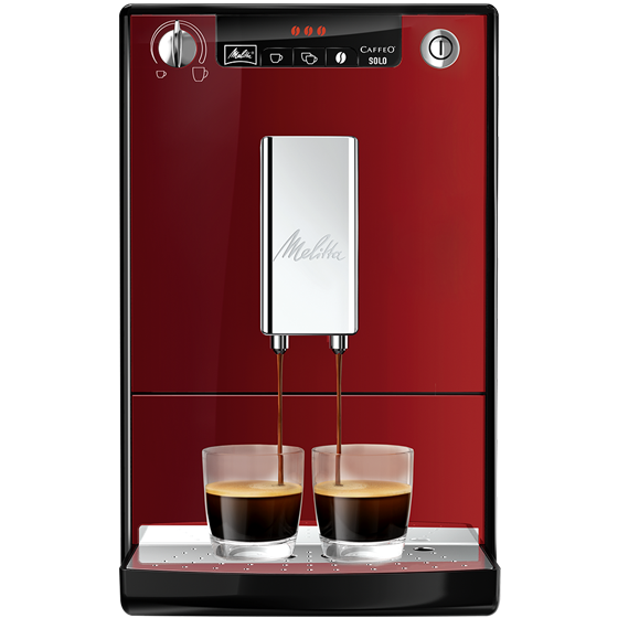 Caffeo® Solo® Kaffeevollautomat, Chili-red (2. Wahl)