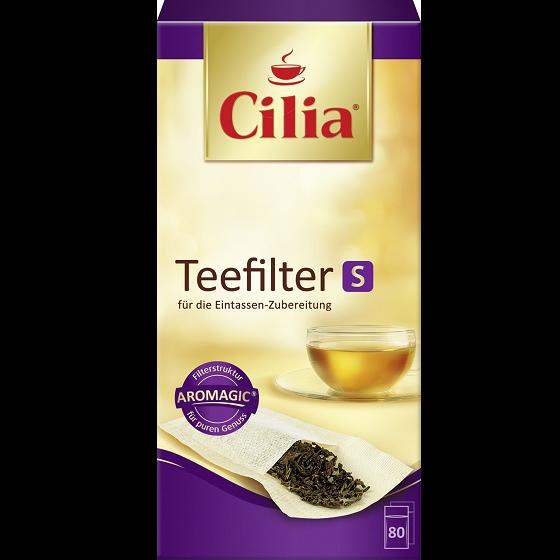 Cilia® Teefilter S 80 Stück