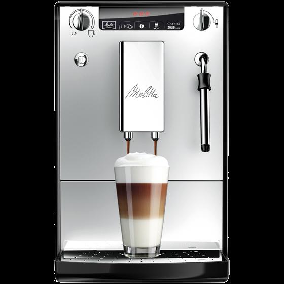 Caffeo® Solo® & Milk Kaffeevollautomat, schwarz-silber