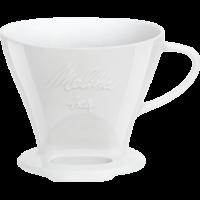 Kaffeefilter aus Porzellan, 1x4® weiß