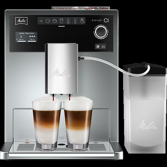 Caffeo® CI® Kaffeevollautomat, silber (2. Wahl)