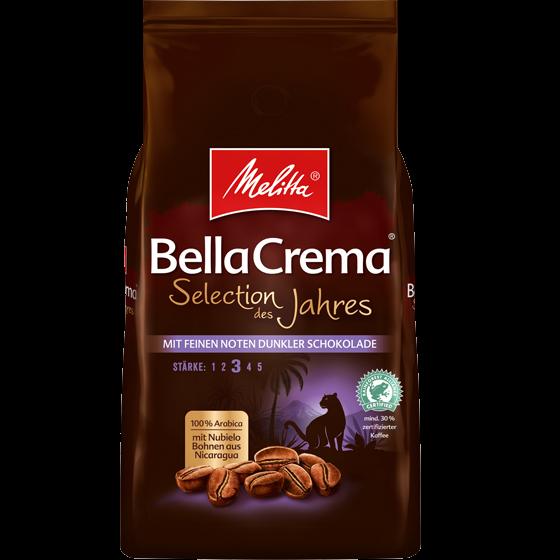 Melitta® BellaCrema® Selection des Jahres 2020, Kaffeebohnen, 1000g