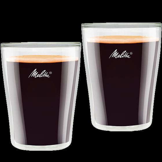 Doppelwandige Kaffee-Gläser