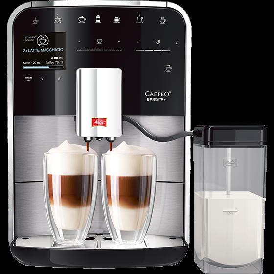 Caffeo Barista® T Kaffeevollautomat, Edelstahl (Auslaufversion)