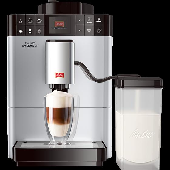 Caffeo® Passione® OT Kaffeevollautomat, silber