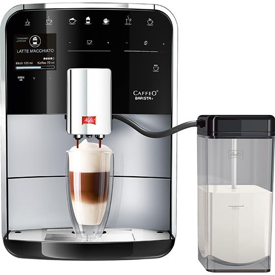 caffeo barista t kaffeevollautomat silber 2 wahl. Black Bedroom Furniture Sets. Home Design Ideas