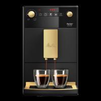 Purista® Series 300 Jubilee Edition, Kaffeevollautomat, matt schwarz-gold