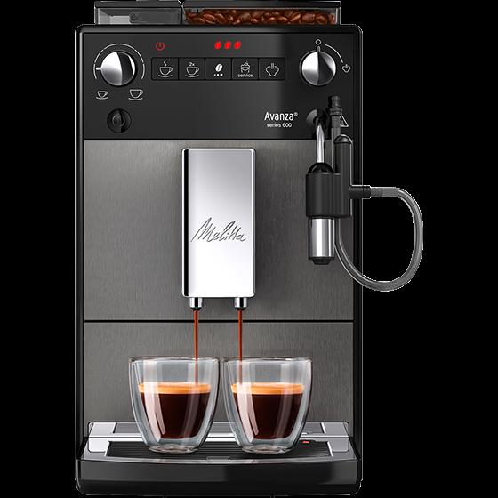 Avanza® series 600 Kaffeevollautomat, mystic titan (2. Wahl)