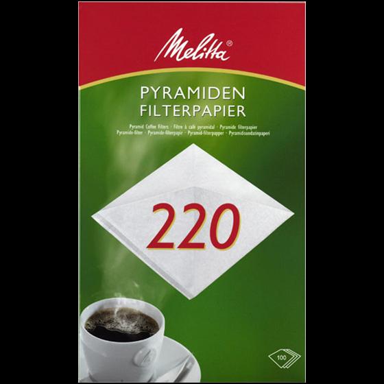 Melitta® Pyramiden-Filterpapier PA SF 220G