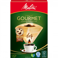 Melitta Gourmet® Filtertüten®, 1x4®, braun