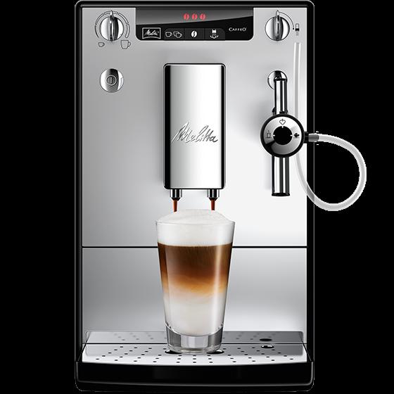 Caffeo® Solo® & Perfect Milk Kaffeevollautomat, silber (2. Wahl)