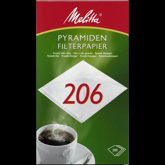 Melitta® Pyramiden-Filterpapier Pa SF 206 G