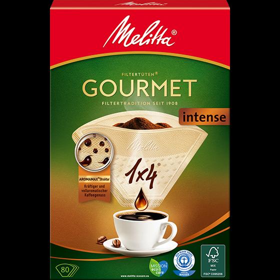 Melitta Gourmet® Filtertüten® Intense, 1x4®