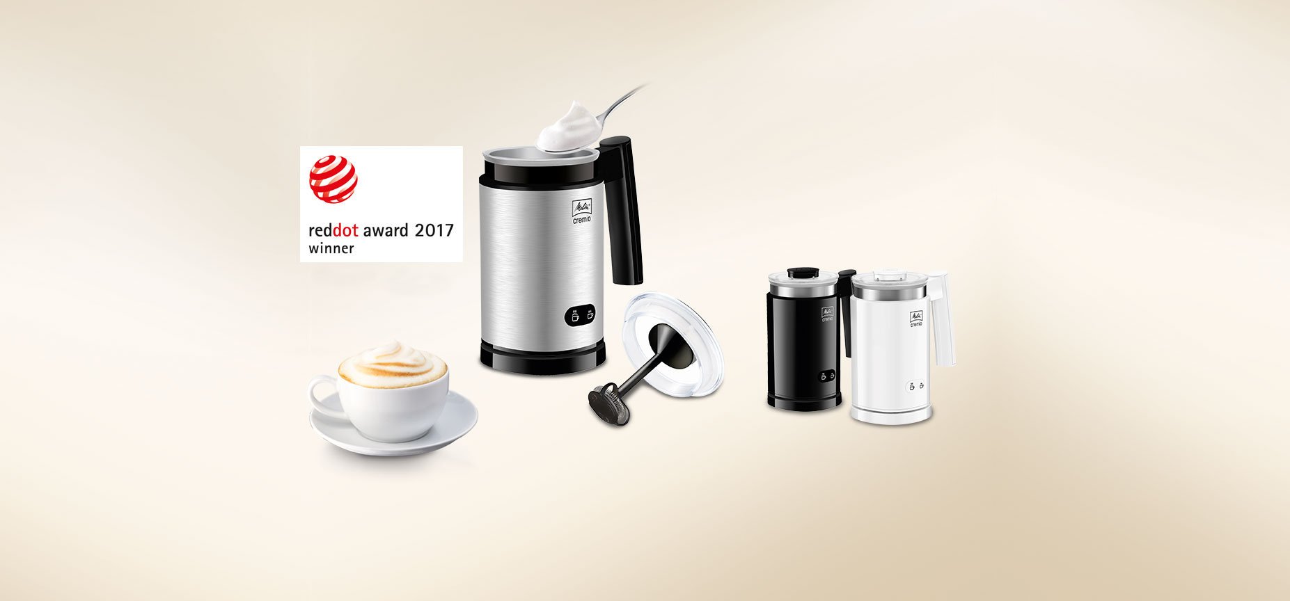 Cremio® Red Dot Product Design Award