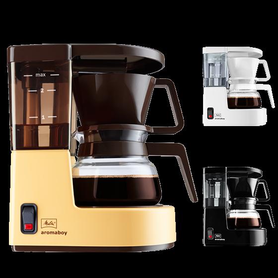 aromaboy filterkaffeemaschine melitta online shop. Black Bedroom Furniture Sets. Home Design Ideas