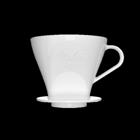 kaffeefilter 102 aus porzellan melitta online shop. Black Bedroom Furniture Sets. Home Design Ideas